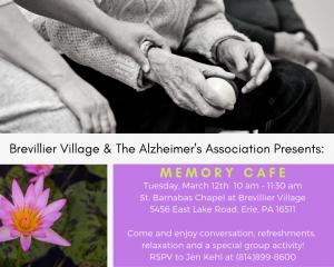 Brevillier Village and the Alzheimer Association Press.