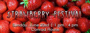 Strawberry Festival 6/23 1 - 4 pm Brevillier Village