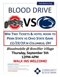 Blood Drive.