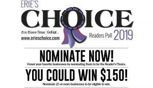 Erie's Choice Readers Poll 2019.