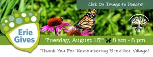 Erie Gives. Tuesday August 13th 8am-8pm.