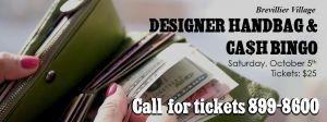 Designer Handbag and cash bingo.