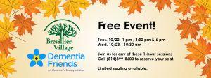 Brevillier Village, Dementia Friends Free Event.