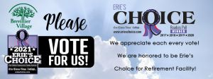 VOTE Brevillier Village Erie's Choice 2021